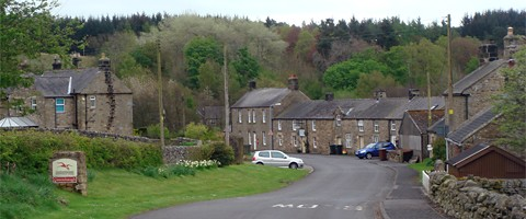 Photograph of Greenhaugh in Tarset