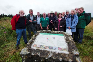 For the first time an information board was also installed for the Iron Age settlement in Sidwood, with funding assistance from the Northumberland National Park