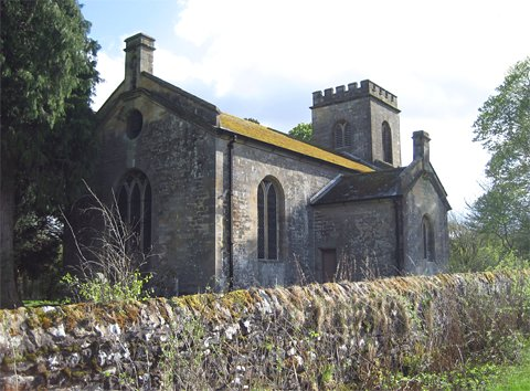 Photograph of St Aidan's Church, Thorneyburn